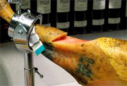 comment couper le jambon en tranches