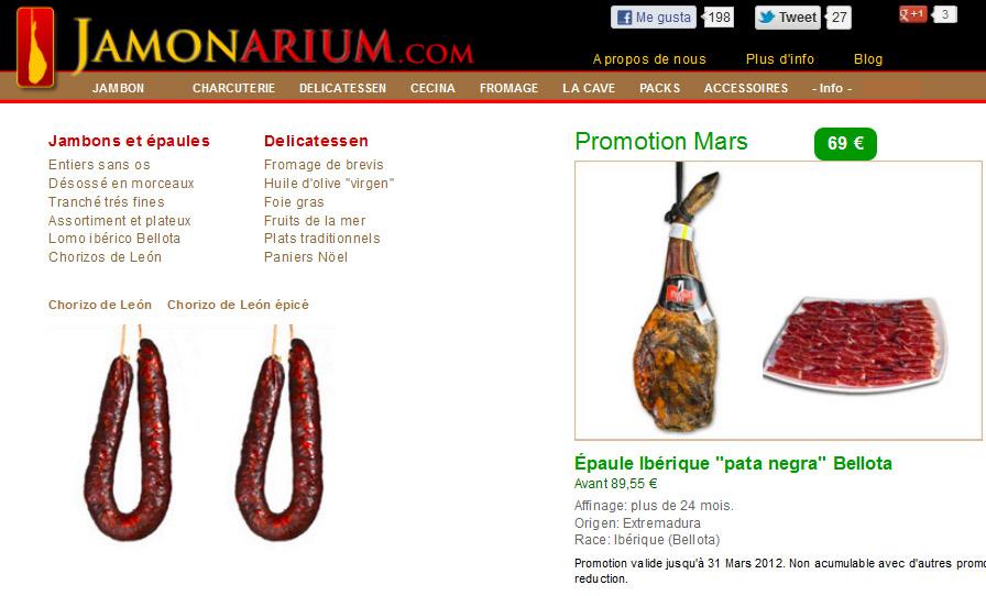 Cosa c'è di nuovo nelle reti sociali Jamonarium.com