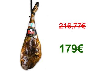 € 179 – 7.250 Kg prosciutto iberico bellota – marzo 2012