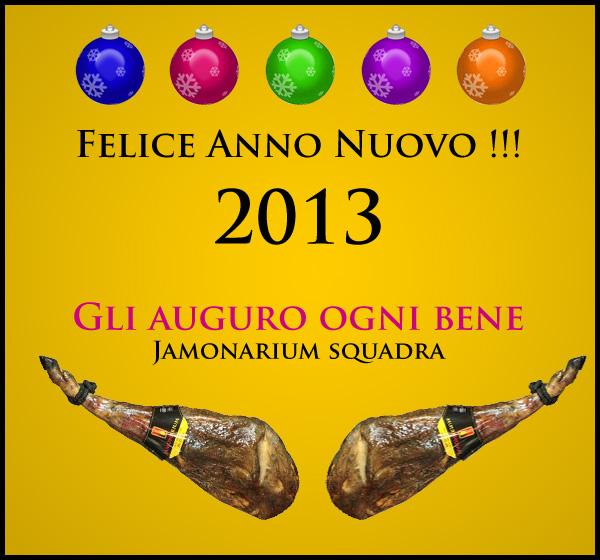 Felice Anno Nuovo 2013