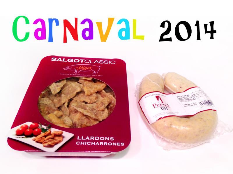 Per Carnevale arriva eccessi, piaceri et «Chicharrones!!!