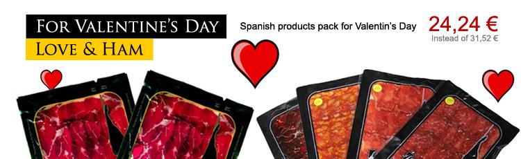 Per San Valentino ... Love & prosciutto spagnolo