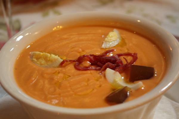 Salmorejo zuppa fredda per le giornate calde