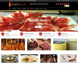 negozio online che vende prosciutti e salsicce iberiche