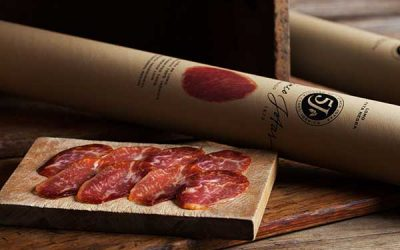 Cinco Jotas salsicce iberiche di Jabugo: una vera delizia