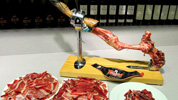 Comment couper le jambon espagnol 2