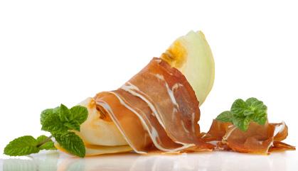 Prosciutto Ricette: prosciutto iberico e melone