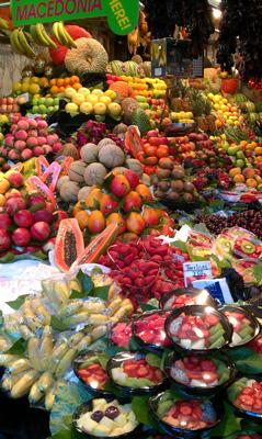 Un punto di riferimento per visitare a Barcellona: il mercato della Boqueria