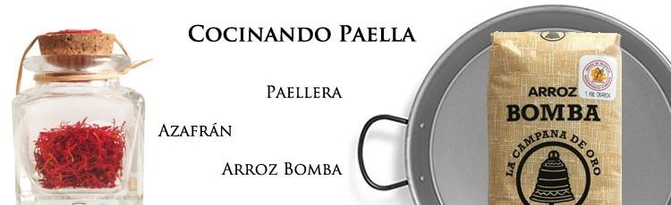 Miglior paella di cucina con Paellera, zafferano Pump Rice