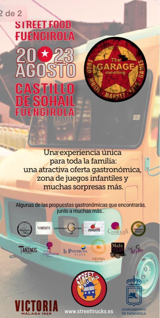Street Food Fuengirola, un festival di gastronomia su camion