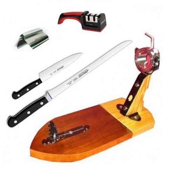 Tipi di coltelli per tagliare il prosciutto