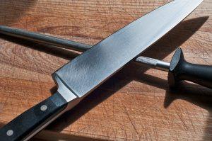 affilate un coltello da prosciutto